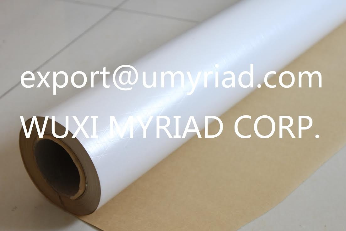 White PVC Insulation Facing