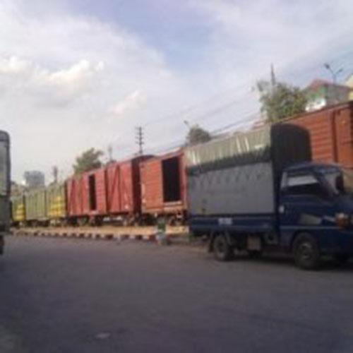 Vận chuyển từ ga Giáp Bát đến ga Sóng Thần