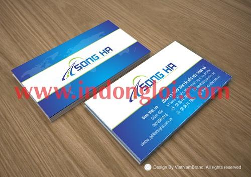 Name card Song Hà