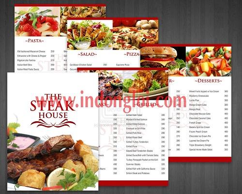 In menu