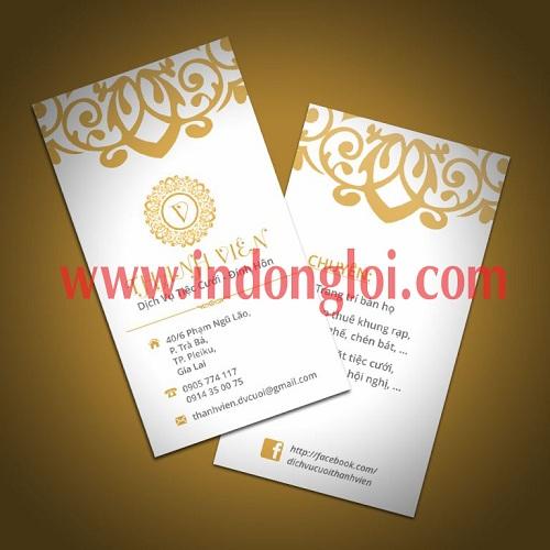 Namecard dịch vụ cưới hỏi thành viên