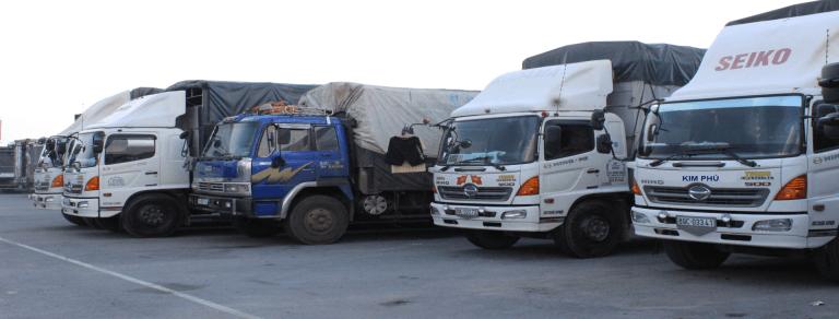 Vận chuyển bằng Xe bán tải 850 kg