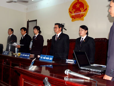 Xét xử phúc thẩm án dân sự