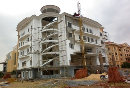 Thi công xây dựng Sảnh Báo tỉnh Quảng Bình