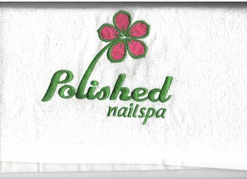 Khăn in logo