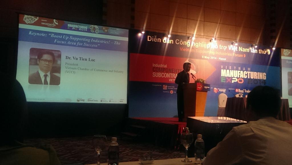 Vietnammanufacturing Expo 2014