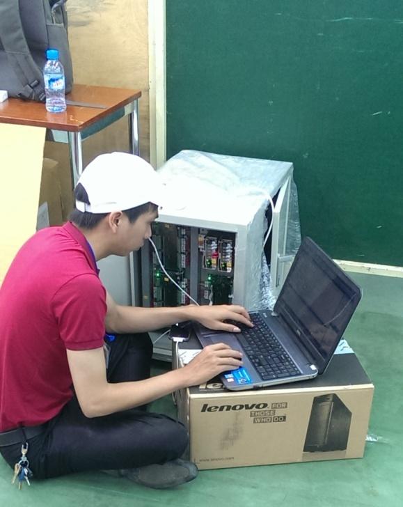 Lắp tủ điện điều khiển TOYOTA VN