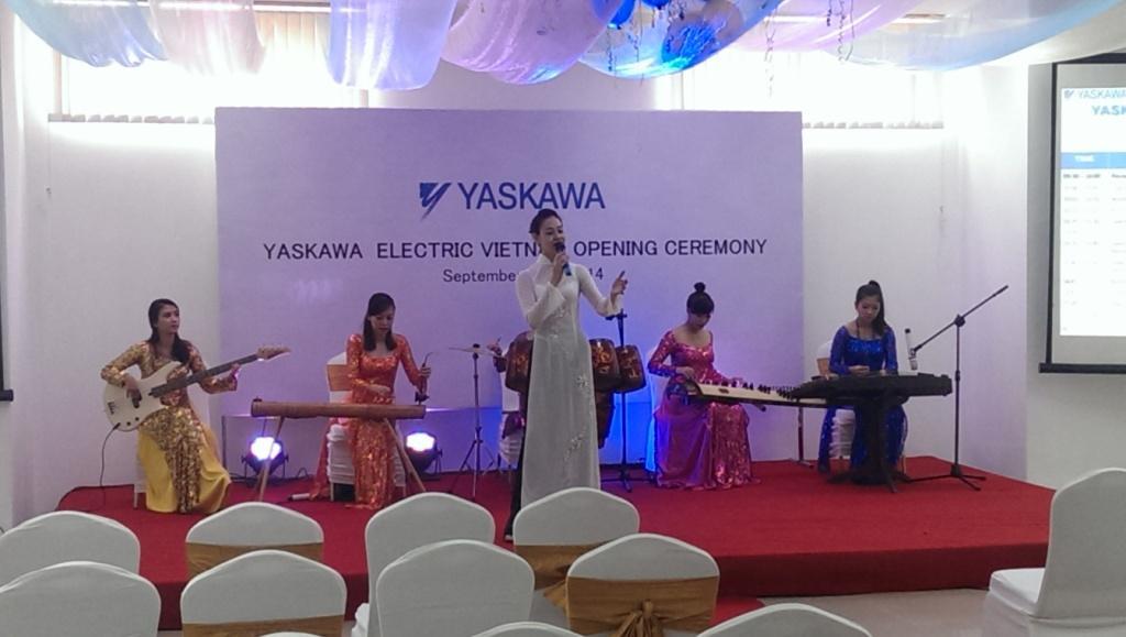 Yaskawa Electric Viet Nam Opening Ceremony 2014