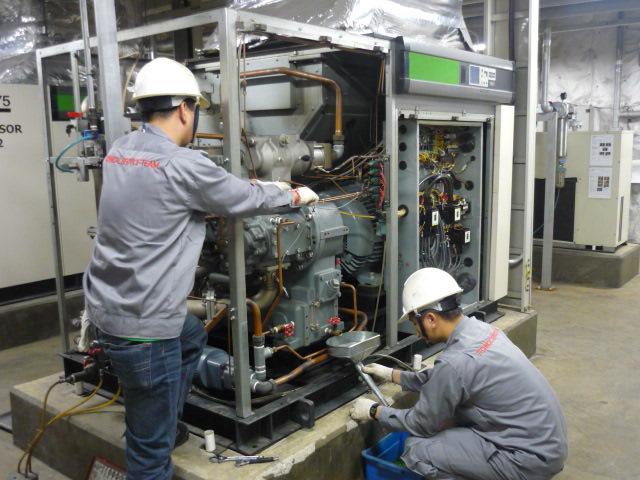 Dịch vụ bảo trì, sửa chữa máy nén khí