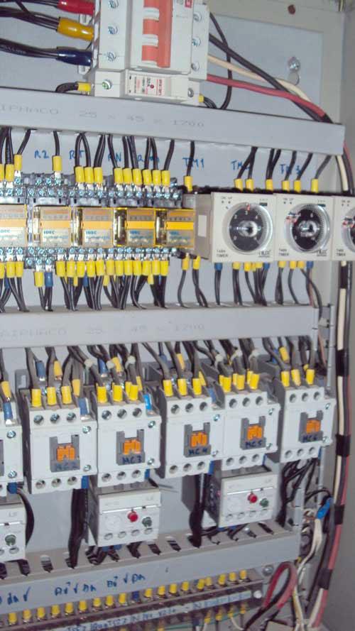 Tủ điện điều khiển phòng sấy