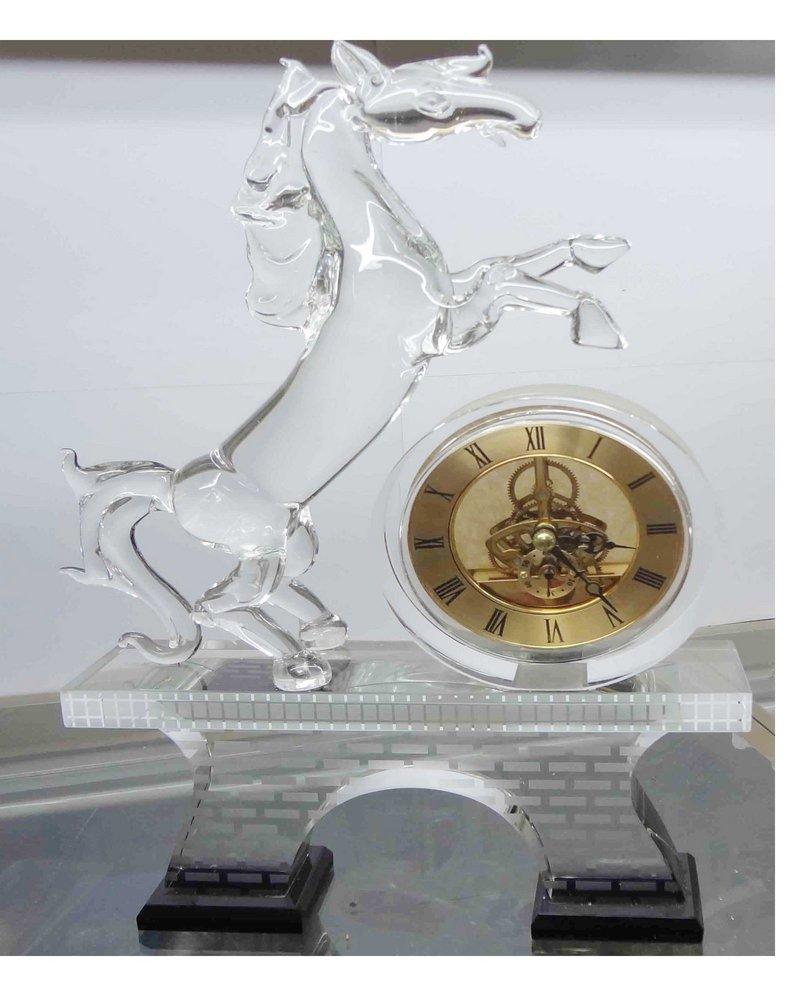 Đồng hồ để bàn pha lê