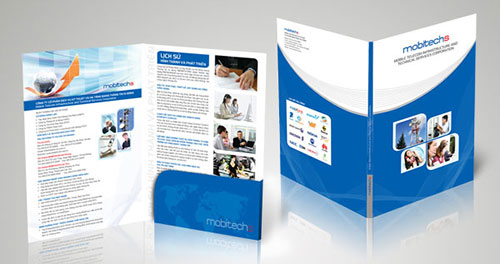 Thiết kế bìa kẹp hồ sơ