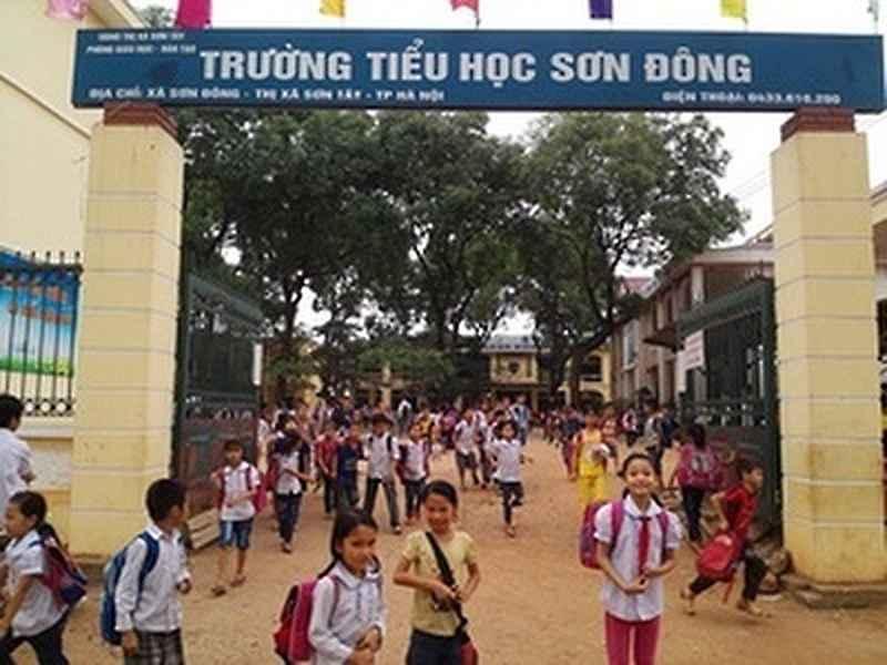 Trường tiểu học Sơn Đông - Sơn Tây