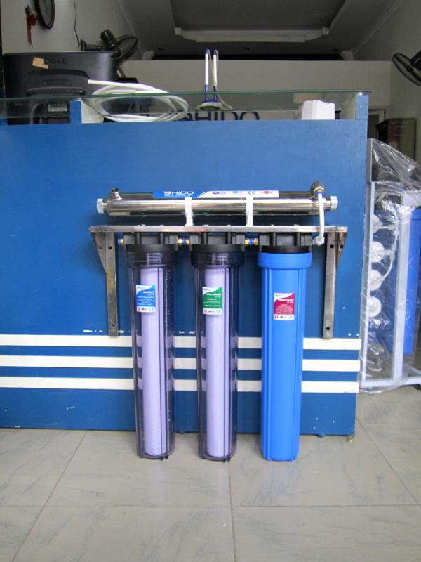 Cốc lọc nước composite