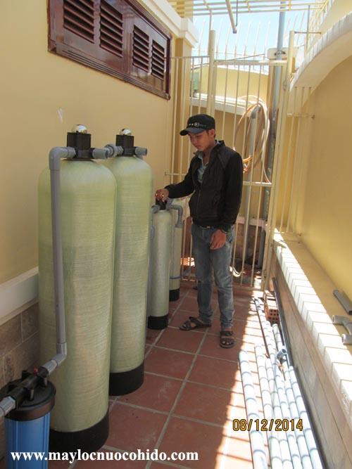 Cột lọc nước composite