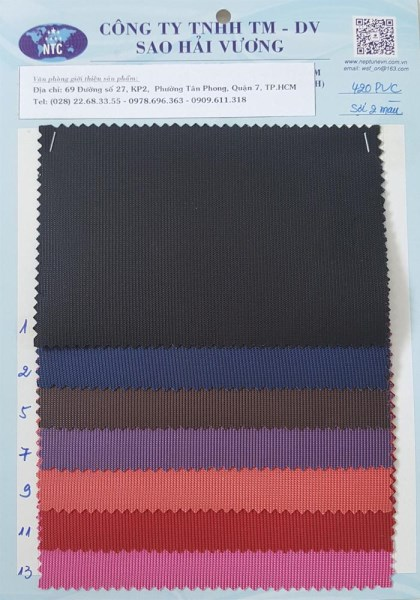 Vải PVC
