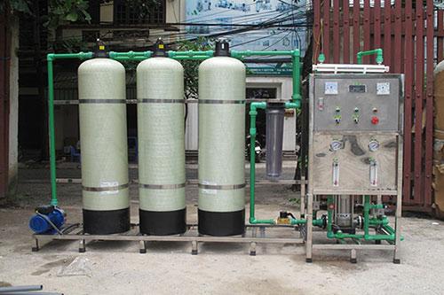 Hệ thống lọc nước RO SX đá tinh khiết