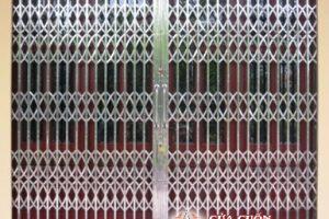 Cửa kéo inox Đài Loan không lá