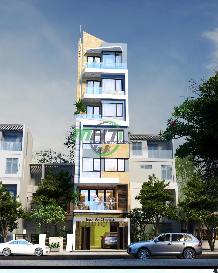 Thiết kế nhà ở kết hợp khách sạn