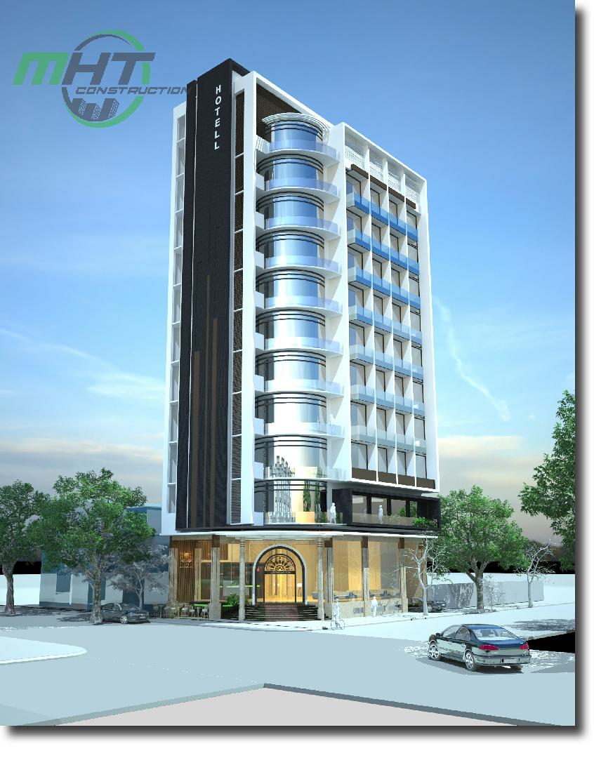 Thiết kế khách sạn Ocean Paradise