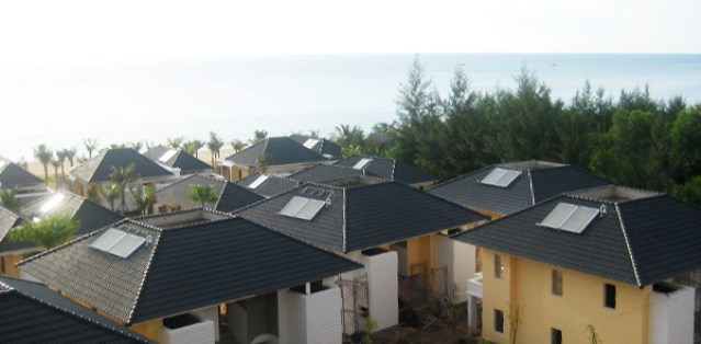 Máy nước nóng năng lượng mặt trời gia đình