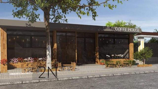 Thiết kế và thi công quán Cà phê