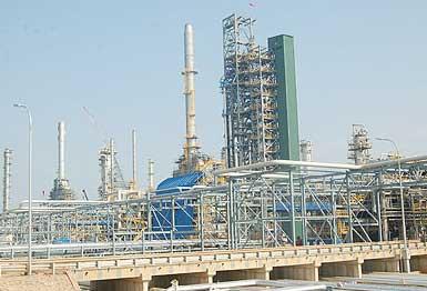 Gia công kết cấu thép nhà máy lọc dầu