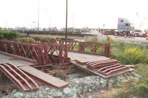 Gia công kết cấu thép cầu sắt