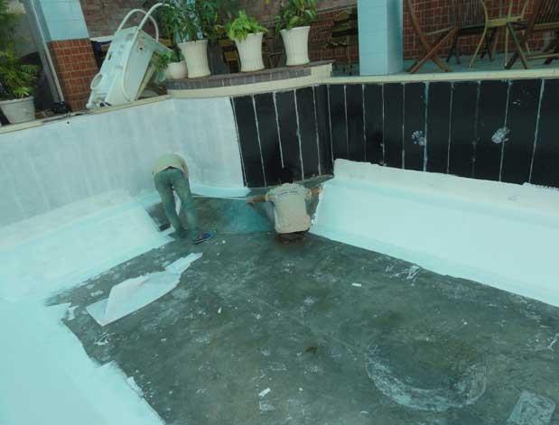Dịch vụ chống thấm bể bê tông