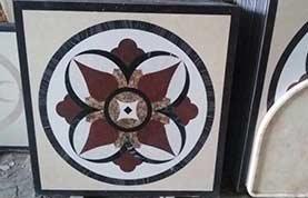 Tấm ghép hoa văn đá