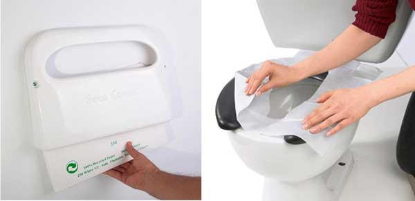 Giấy lót bồn vệ sinh