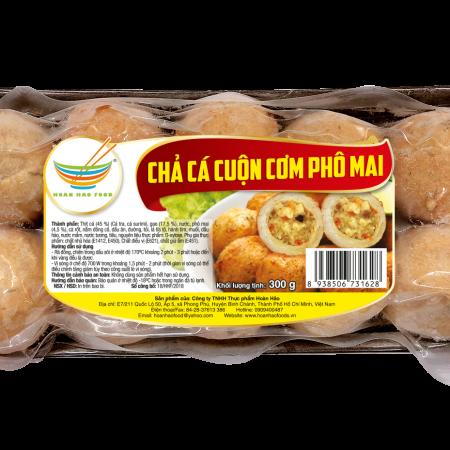Chả cá cuộn cơm phomai