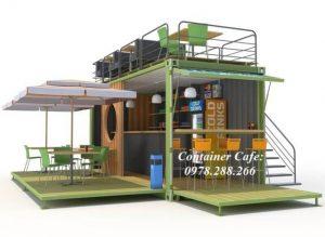 Container quán cà phê