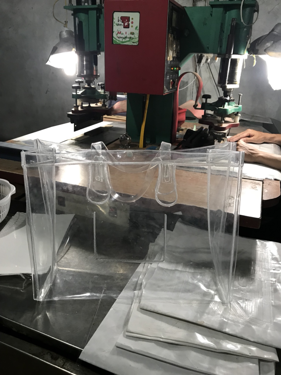 Túi PVC trong