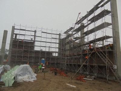 Công tác thi công xây tường