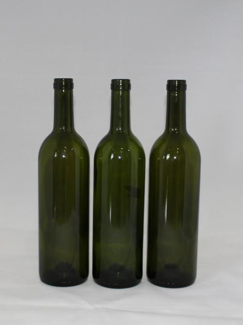 Chai rượu vang màu xanh 750ml