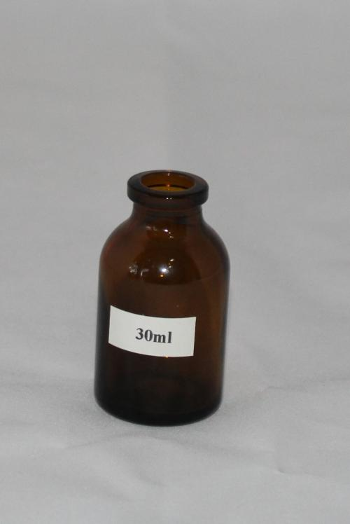 Chai thủy tinh amber 30ml