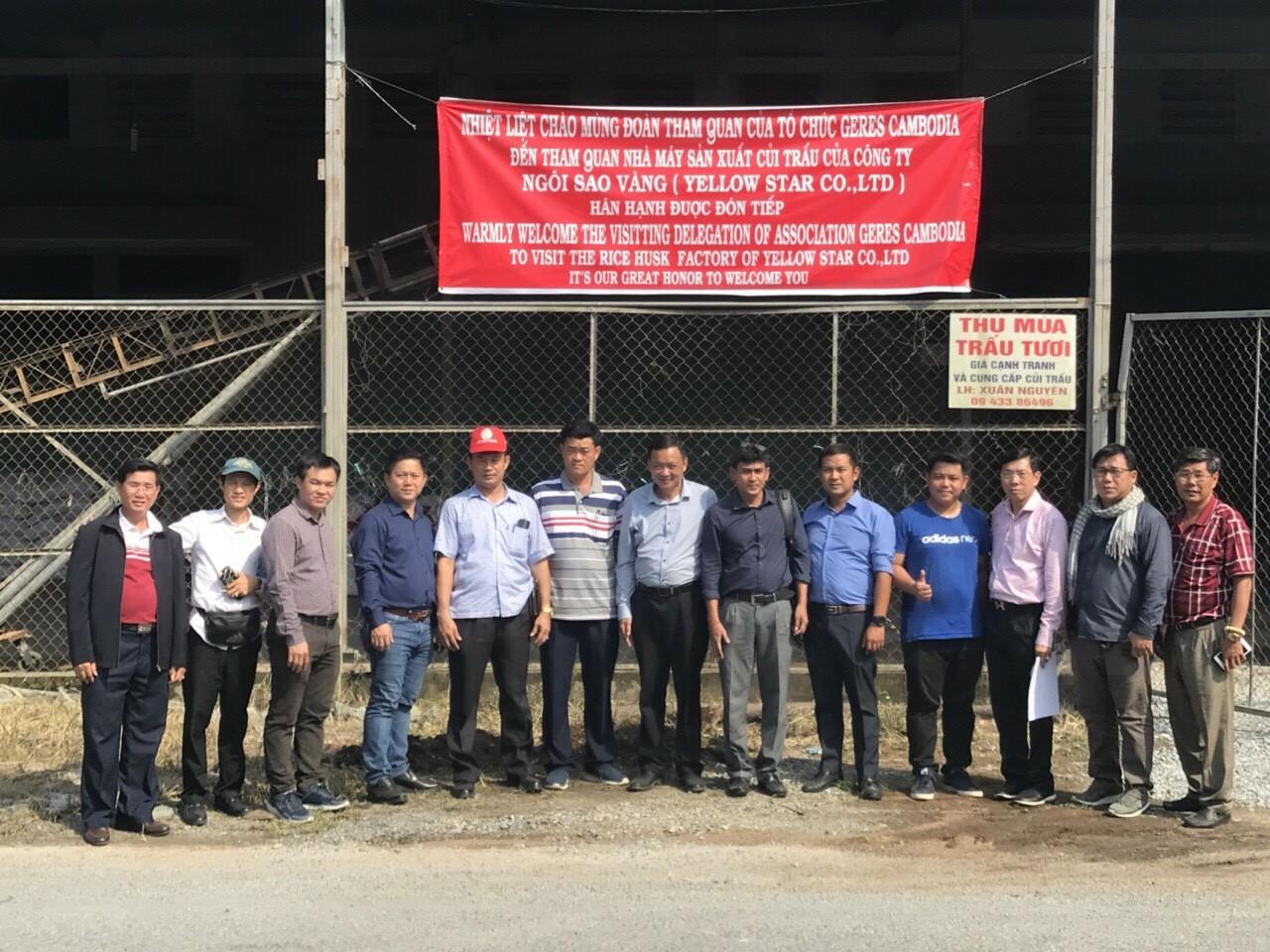 Đoàn Geres Cambodia thăm nhà máy