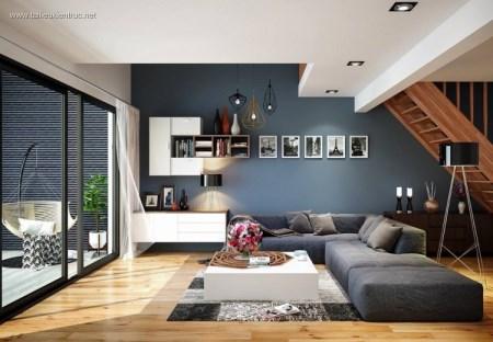 Thiết kế phòng khách 3D