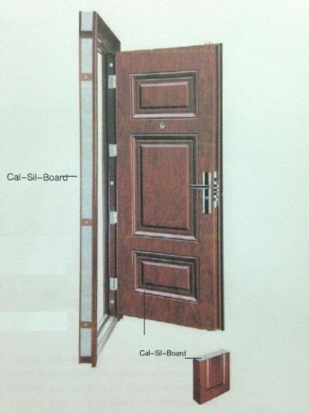 Tấm Calcium Silicate cho cửa chống cháy