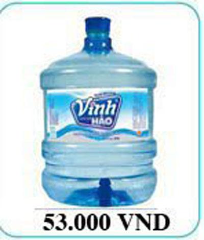 Nước uống đóng bình vĩnh hảo