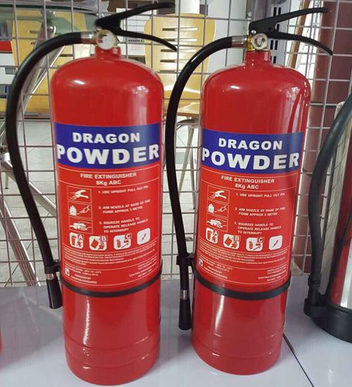 Bình chữa cháy bột ABC 8 kg Dragon