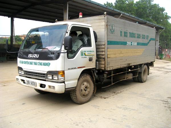 Dịch vụ vận chuyển rác thải