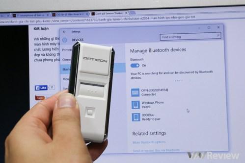 Máy đọc mã vạch không dây Bluetooth OPN-3002i