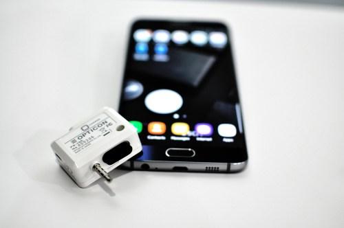 Máy đọc mã vạch kết nối với điện thoại qua cổng 3.5mm - PX-100