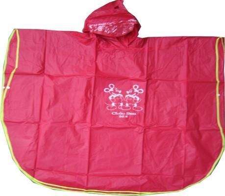 áo mưa viền trẻ em siêu bền