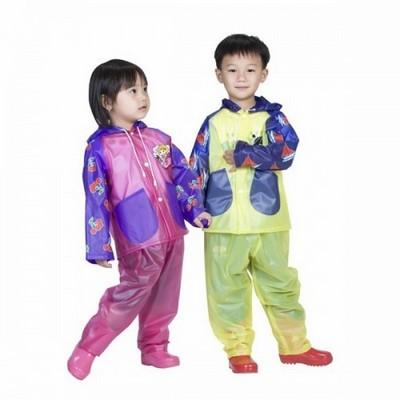 áo mưa bộ trẻ em siêu bền