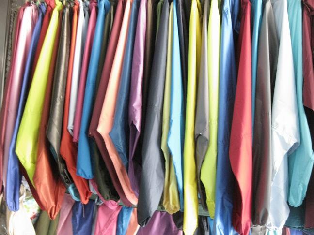 áo mưa vải dù liền thân A4 chất lượng cao
