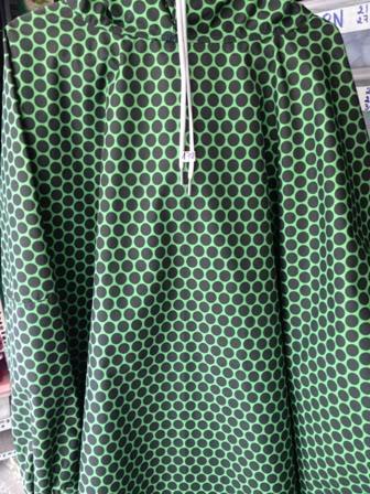 áo mưa vải dù liền thân thời trang A4