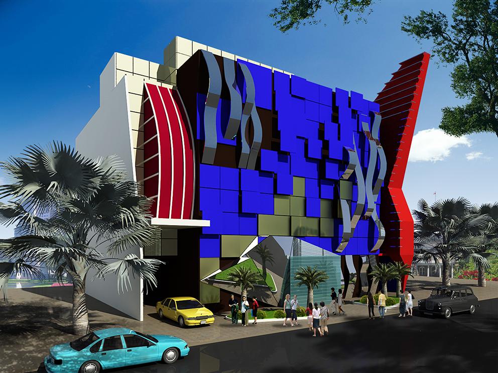 Thiết kế thi công kiến trúc Bar